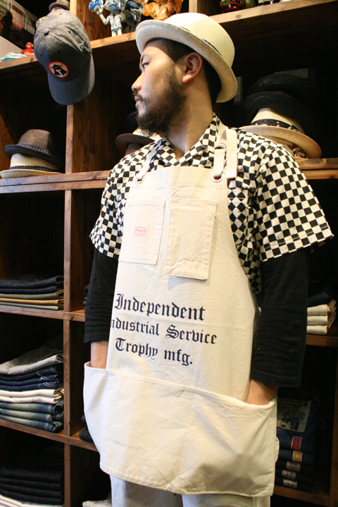 TROPHY CLOTHING  「Independent Apron」  エプロン