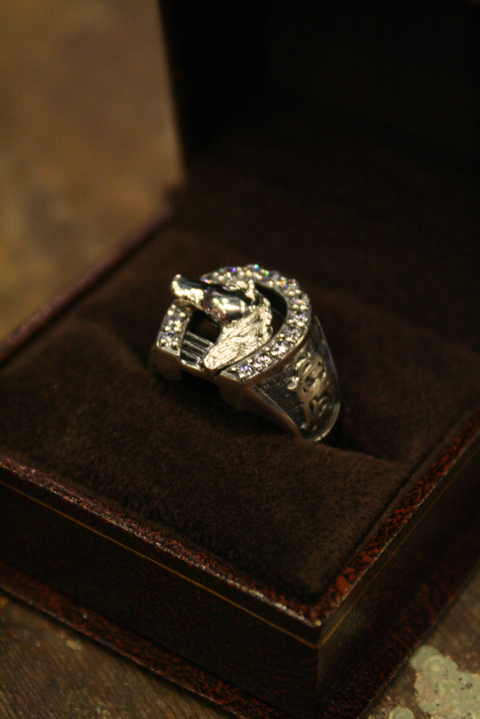 BLACK SIGN   ELCONA Ring (Silver 925 with Zirconia)