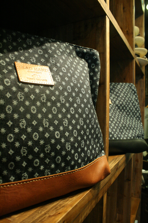 HERITAGE×GLAD HAND  「GH MONOGRAM-CLUTCH  」  モノグラムクラッチバッグ