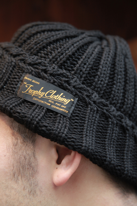 TROPHY CLOTHING/トロフィークロージング  「Low Gauge Knit Cap」  ローゲージニットキャップ
