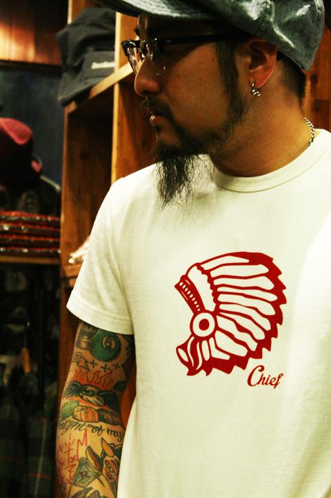 TROPHY CLOTHING  「Chief Crew」 クルーネックティーシャツ