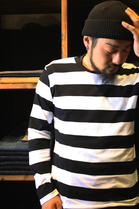 CONFUSE  「L/S BORDER TEE」  ボーダーティーシャツ