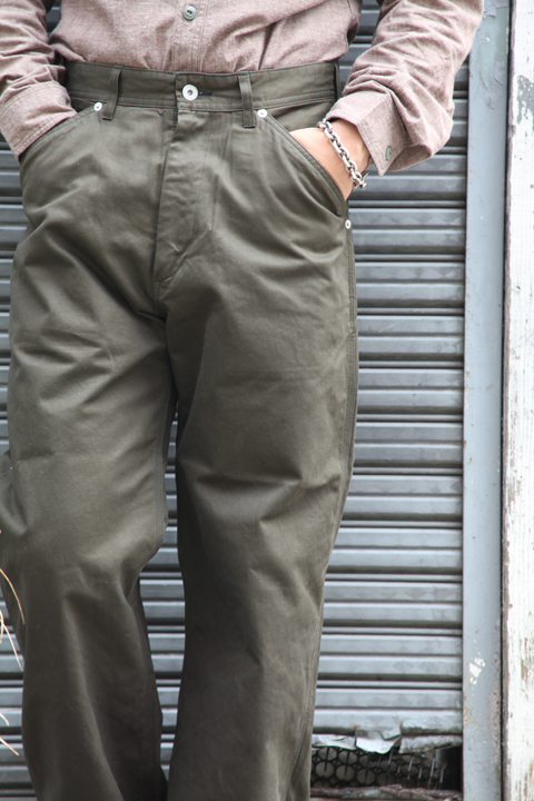TROPHY CLOTHING/トロフィークロージング  「Gas Worker Pants」  ペインターパンツ