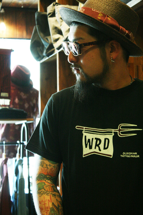 WEIRDO  「DEVIL TATTOO」  TATTOOフラッシュ S/S TEE