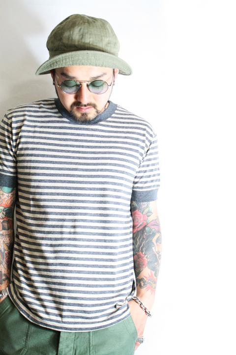 TROPHY CLOTHING/トロフィークロージング  「Nostalgia Border Tee」  ボーダーTシャツ