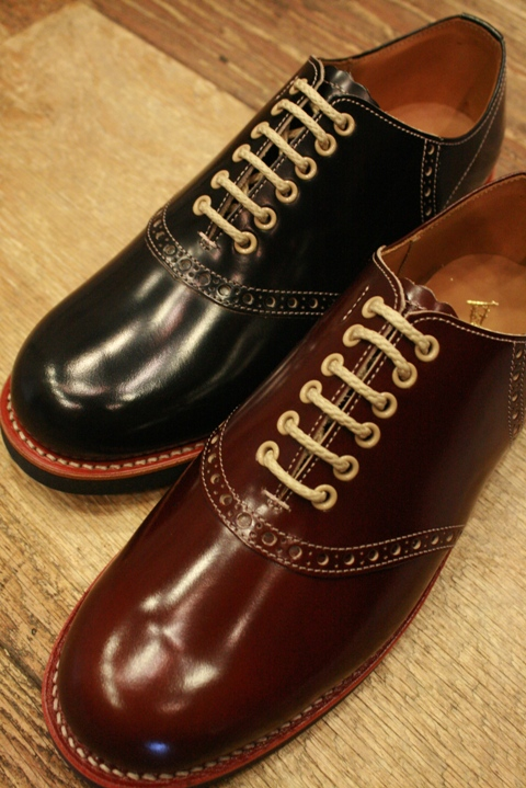 REGAL×GLAD HAND 「SADDLE SHOES 2」  サドルシューズ