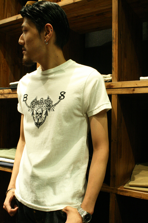 BLACK SIGN  「Skull and Chain」  S/S TEE