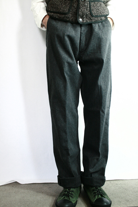 TROPHY CLOTHING/トロフィークロージング  「WL Drill Trousers」 ツイルウールトラウザー