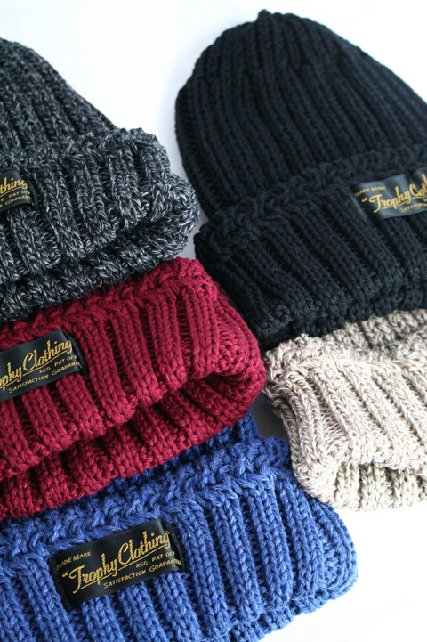 TROPHY CLOTHING/トロフィークロージング   「Low Gauge Knit Cap」 ローゲージ ニットキャップ