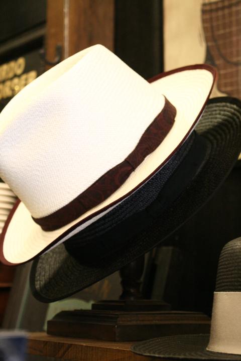 GANGSTERVILLE/ギャングスタービル  「GIN MILL - HAT」  パナマハット