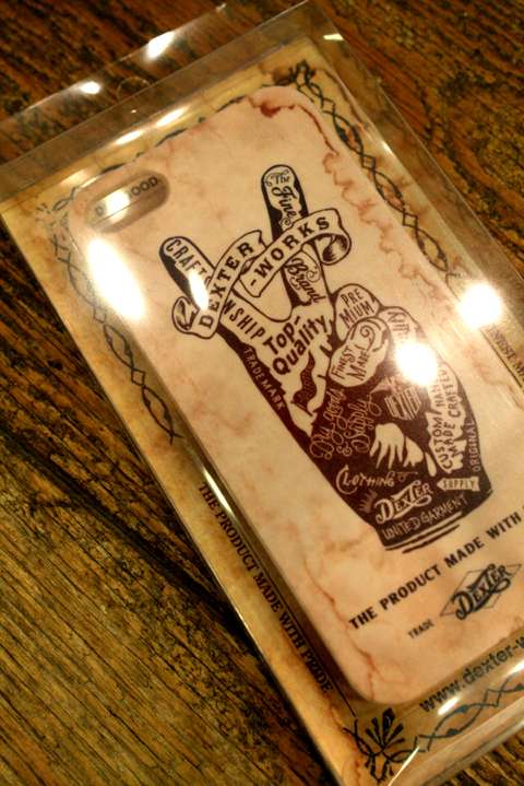 DEXTER   「iPhone Case」  iPhoneケース(5、5S)