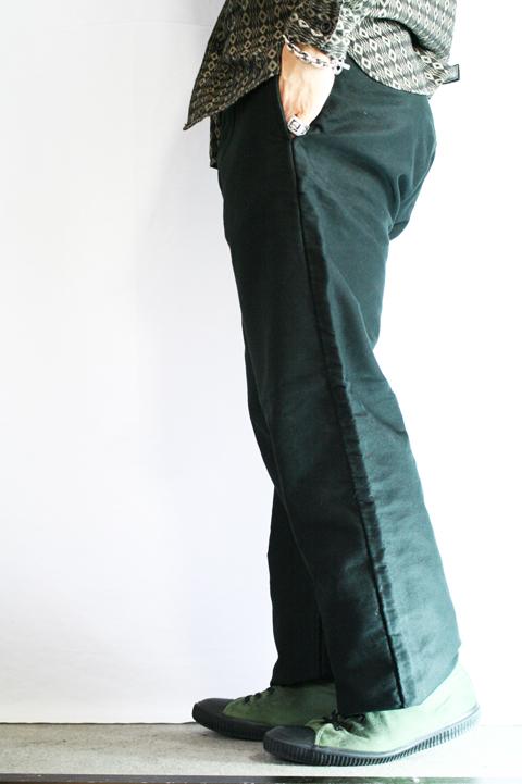BLACK SIGN/ブラックサイン  「Moleskin Avignon Trousers」  モールスキントラウザース