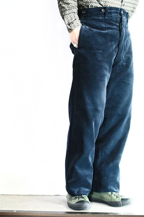 BLACK SIGN/ブラックサイン  「Heavy Corduroy Avignon Trousers」  コーデュロイトラウザース
