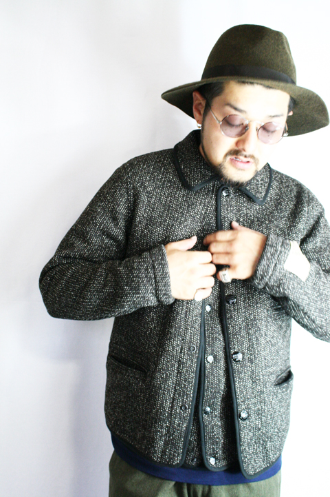 TROPHY CLOTHING/トロフィークロージング  「Brown Browns Coverall」  ビーチクロスカバーオール