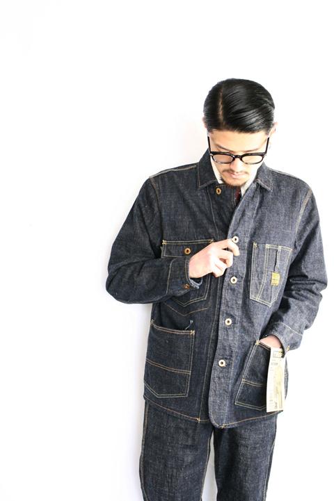 TROPHY CLOTHING/トロフィークロージング  「Dirt Denim Coverall」  ダートデニムカバーオール