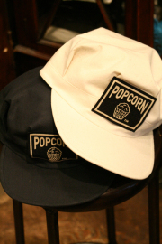 WEIRDO/ウィアード   「POPCORN - WORK CAP」  コットンキャンバスワークキャップ