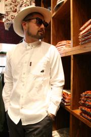 WEIRDO/ウィアード   「TIN CAR CLUB - L/S SHIRTS」  オックスフォードボタンダウンシャツ