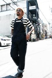 TROPHY CLOTHING/�ȥ�ե������?��������Authentic Denim Overalls�ס�����ǥ����?�Хå������С�������
