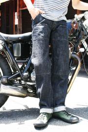 TROPHY CLOTHING/�ȥ�ե������?��������10th W Knee Standard Dirt Denim�� ��TC10��ǯ��ǰ���֥�ˡ������ȥǥ˥�