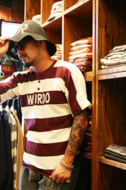 WEIRDO/����������   ��WEIRDOLMAN - S/S HENRY SWEAT��   ���ꥸ�ʥ�ܡ������إ��������å�