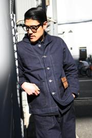 TROPHY CLOTHING/トロフィークロージング  「Mil Denim USN Coverall」  ミルデニムカバーオール