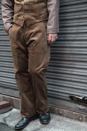 TROPHY CLOTHING/トロフィークロージング  「Brooklyn Code Trousers」 コーデュロイトラウザーズ