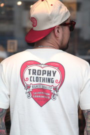 TROPHY CLOTHING/トロフィークロージング  「Heart OD Pocket Tee」  ハートロゴTシャツ