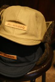 WEIRDO/ウィアード   「FLYING WEIRDO - EARMUFF」  オリジナルコットンイヤーマフ