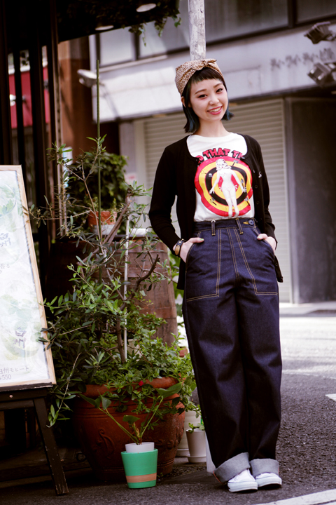 QUEEN BEE  「Q.B 40'S WORK PANTS DENIM」  40'S ワークパンツNON WASH