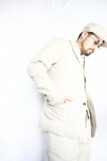 TROPHY CLOTHING/トロフィークロージング  「Swingin' Linen Jacket」  ヘヴィーリネンツイルテーラードジャケット