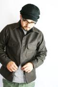 BLACK SIGN/ブラックサイン   「Wool Melton Anchor Shirt」  ウールメルトンアンカーシャツ