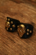 DEXTER 「LEATHER STUDS RING」 レザースタッズリング