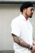 BLACK SIGN/ブラックサイン  「Paisley Jacquard Raglan Shirt」 ペイズリージャガードラグランシャツ