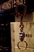 WEIRDO「FRANKEN SPANNER-KEY HOLDER」BRASS×925キーホルダー