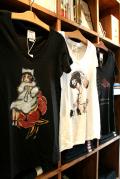 QUEEN BEE 「VNECK TEE SHIRTS」 Vネックティーシャツ