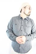 TROPHY CLOTHING/トロフィークロージング  「Machine Age Shirts」 デニムシャツ