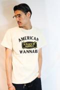 AW ORIGINAL/アメリカンワナビーオリジナル 「A Place Of Supply」 プリントTシャツ