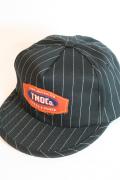 TROPHY CLOTHING/トロフィークロージング  「Tracker TMOCo. Cap」  コークストライプトラッカーキャップ