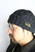 TROPHY CLOTHING/トロフィークロージング   「Indigo Fisherman Knit Cap」 フィッシャーマンニットキャップ