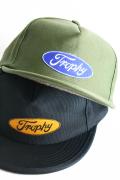 TROPHY CLOTHING/トロフィークロージング  「Oval Tracker Cap」  トラッカーキャップ