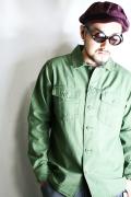 AMERICAN WANNABE/アメリカンワナビーオリジナル  「MILITARY SHIRTS」 ミリタリーシャツ