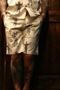 WEIRDO/ウィアード   「WEIRDO COSTUMES - SHORTS」  総柄ショーツ