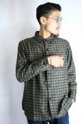 BLACK SIGN/ブラックサイン  「Banded Cross BD Shirt」 バンデッドクロスボタンダウンシャツ