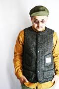 TROPHY CLOTHING/トロフィークロージング  「Brown Browns Vest」  ダークブラウンビーチクロスベスト