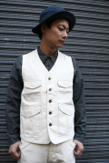 TROPHY CLOTHING/トロフィークロージング  「Logger HBT Vest」 ヴィンテージヘリンボーンベスト