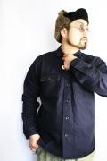 TROPHY CLOTHING/トロフィークロージング  「IB Bond Shirts.」  ボーダーデニムシャツ
