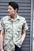 TROPHY CLOTHING/トロフィークロージング  「Sun Rise Leaf Shirts」  リーフシャツ