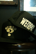 WEIRDO×AMERICAN WANNABE   「4th Anniversary LIMITED CAP」  4th Anni 限定メッシュキャップ