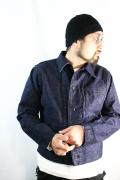 BLACK SIGN/ブラックサイン   「15oz denim Oil Boy Jacket」   オイルボーイワークジャケットジャケット