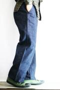 BLACK SIGN/ブラックサイン  「15oz Denim Marine Trousers」  デニムマリーントラウザース